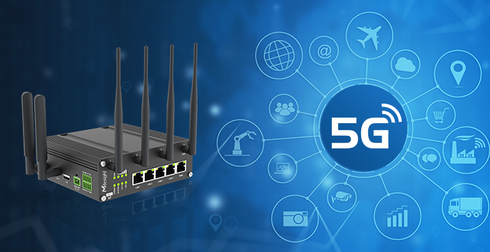 5G-Ready Cellular Router