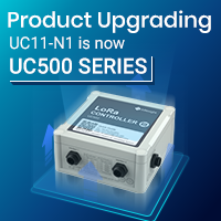 UC11-N1 Product Upgrading — UC500 Series LoRaWAN® Controller Is Upgraded With Smart Idea To Achieve Successful  IoT-ready Product