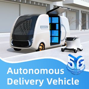 5G Contributes Significantly To Autonomous Delivery Vehicle