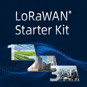LoRaWAN® Starter Kit Helps Users Keep Pace With Changing Market Environment