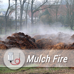 Building An Effective Mulch Fire Alarm And Detection System With Milesight LoRaWAN® Sensors