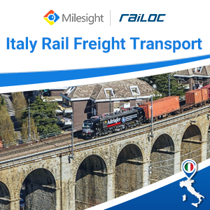 Milesight Facilitates In Remote Monitoring Of Rail Freight Transport In Italy
