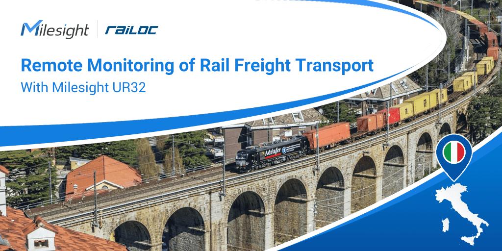 milesight facilitates in italy rail freight transport